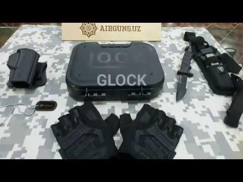 Обзор Review UMAREX GLOCK 17 CO2 Pistol Cal 4,5mm