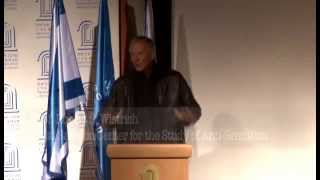 Prof. R. Wistrich - 3rd Nov 2013 - The Forsaken Promise - Hebrew Premiere