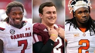2014 NFL Mock Draft 5.0 - 2 Round Mock Draft with Trades! Free HD Video
