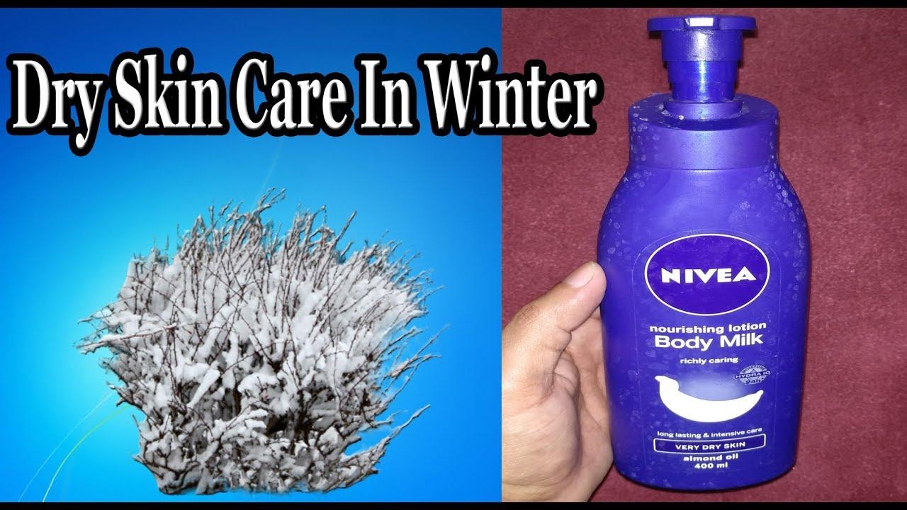 Winter Skin Care For Very Dry With Nivea Nourishing Body Lotion Cream Pemutih Badan Gold Milk Routine
