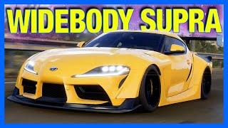 Forza Horizon 5 : Widebody Toyota Supra Customization!! (FH5 Gameplay)