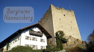 Burgruine Neunußberg bei Viechtach (Bayerischer Wald)