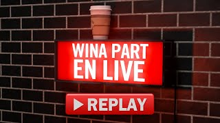 Winamax tv - wina'part en live (16h00 - 16h40)