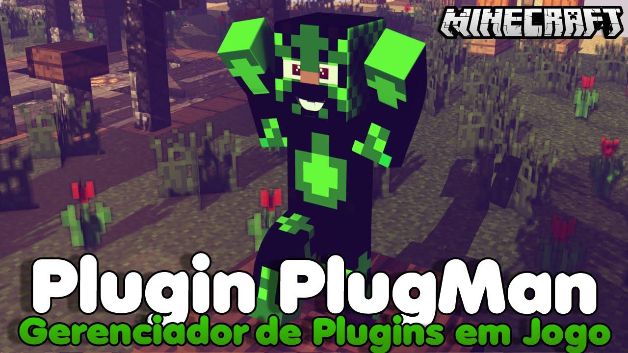 Minecraft Plugin Tutorial PlugMan - Gerenciador de Plugins em Jogo