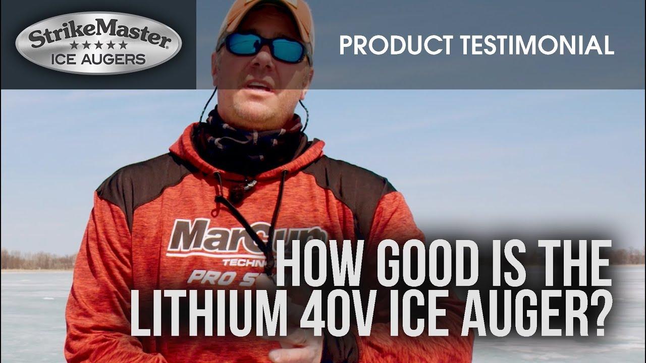 StrikeMaster® Lithium 40v testimonials
