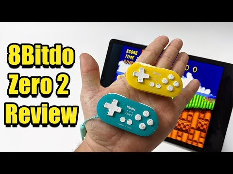 8Bitdo Zero 2 Controller Review - Ultra Portable Bluetooth Controller