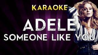 Adele - Someone Like You | Higher Key Karaoke Instrumental Lyrics Cover Sing Along