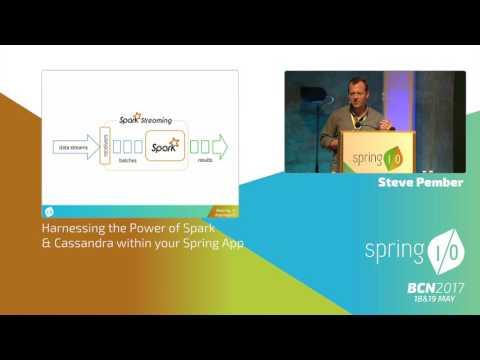 Harnessing the Power of Spark & Cassandra within your Spring App -  Steve Pember @ Spring I/O 2017