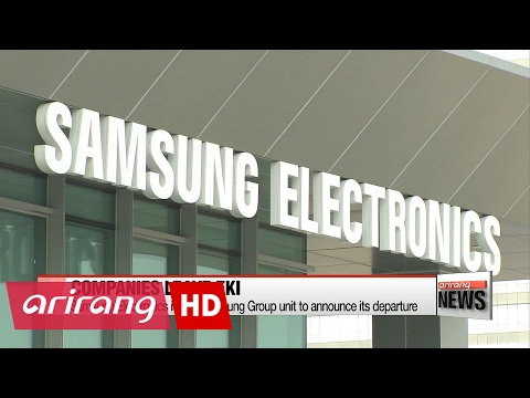 Samsung Electronics leaves Federation of Korean Industries