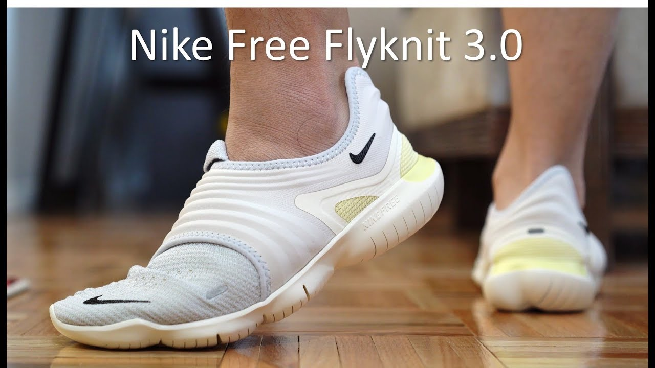 Llevar Procesando Desfavorable  Nike Free RN Flyknit 3.0 - Review/On-Feet - YouTube