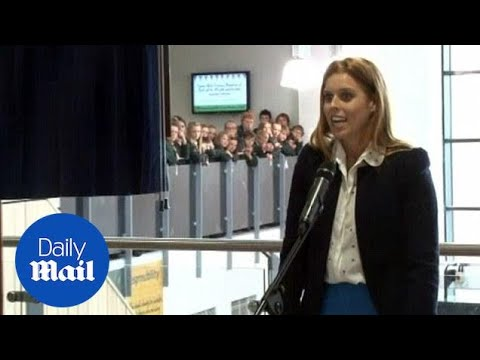 Princess Beatrice opens a new school academy (archive) - Daily Mail