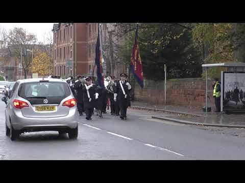 Bellshill Salvation Army Band  Remembrance Day 2018 part 1