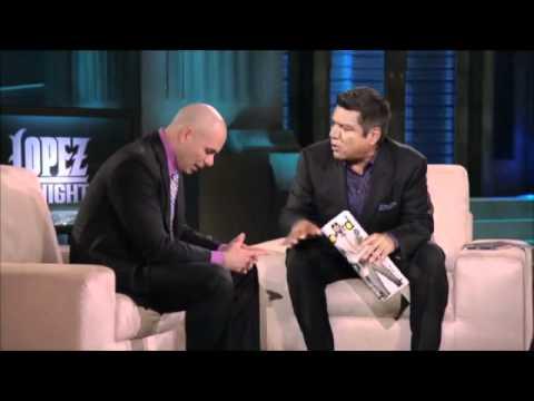 Pitbull chat at Lopez Tonight