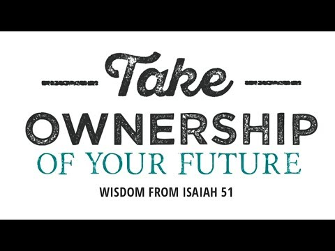 """Take Ownership Of Your Future"" - Don Hutchings"