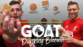 Milner and Robertson decide the GOAT of dunking biscuits | 'Are we being too generous to Hob nobs?'