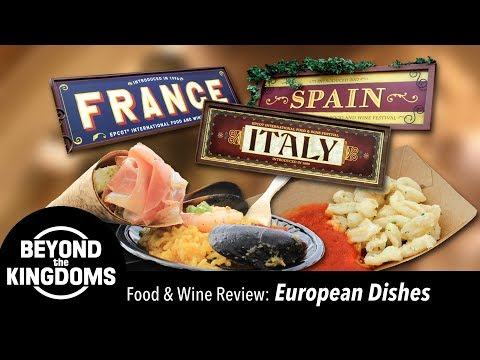 Epcot Food And Wine Festival Best European Dishes