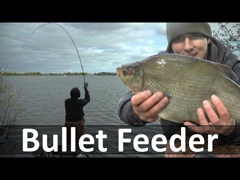 Bullet Feeder - Stado leszczy i drgająca szczytówka - Nęcenie i technika