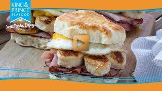 Scallop Biscuit Sandwich
