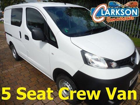FOR SALE - BN13 UAC : www.clarkson-commercials.co.uk - Nissan NV200 Crewvan