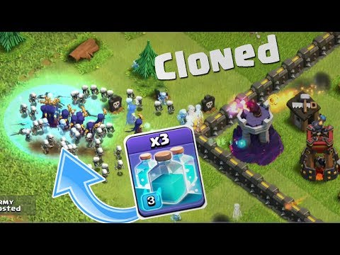 YOU WON'T BELIEVE WHAT CLONE SPELL CAN DO | CLASH OF CLANS