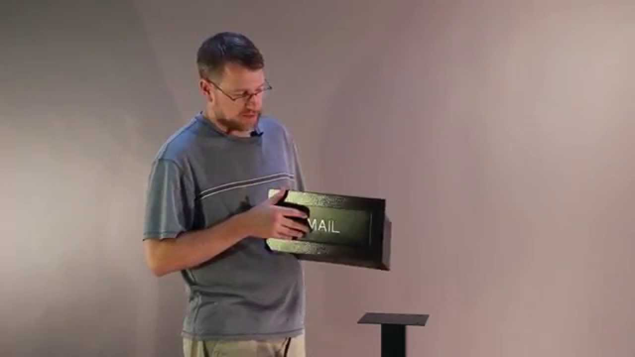 Watch How to Install a Mail Slot video