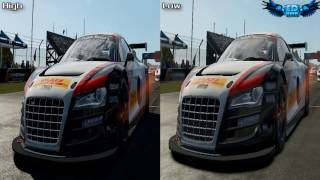 Shift 2 Unleashed PC Graphics Comparison : High Vs Low 1080p GTX460