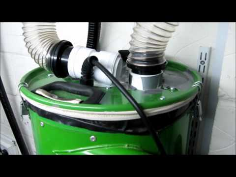 CamVac Dust Extraction System, Sound levels Recorded