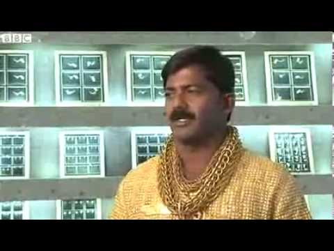Indian Business Man Buys $22K Gold Shirt To Impress Women