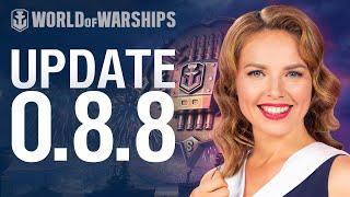 Dasha Presents Update 0.8.8 | World of Warships