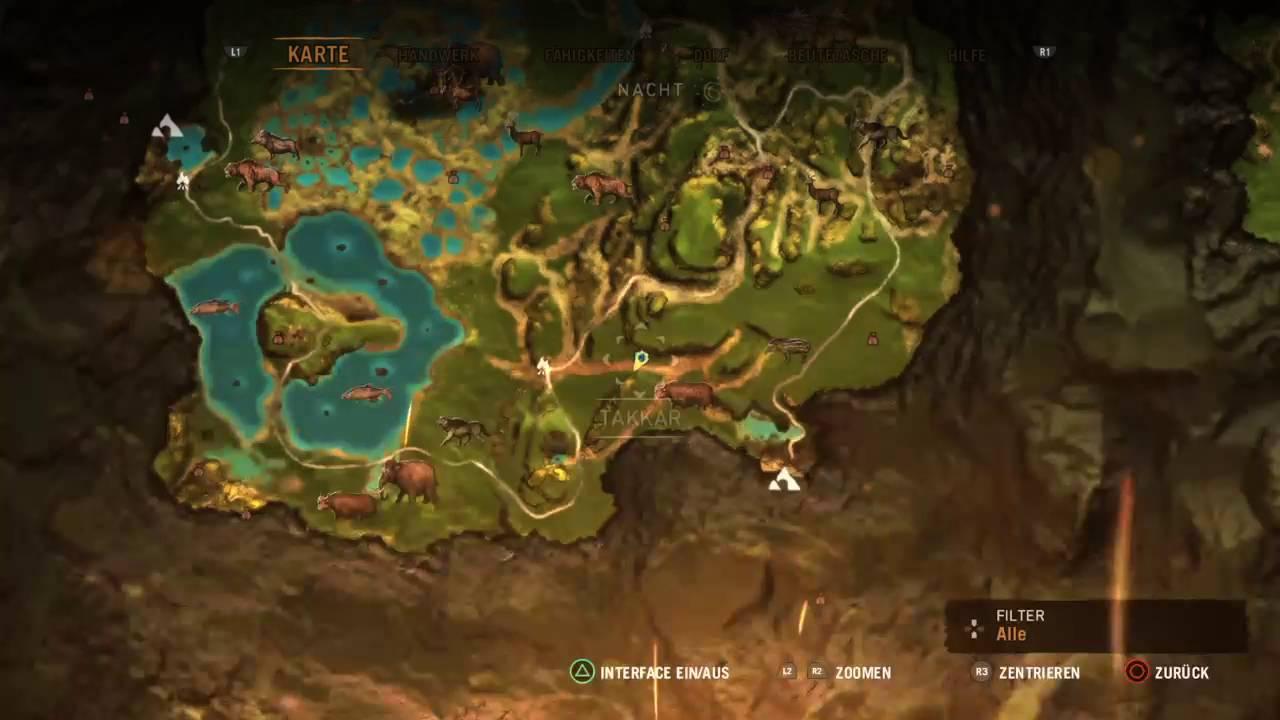 Far Cry Primal Jager Versteck Ganz Unten Im Suden Youtube