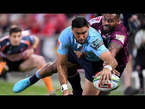 ROUND 16 HIGHLIGHTS: Reds v Waratahs - 2018