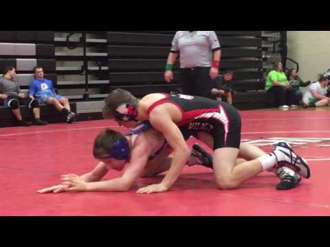 Nick Ifju 126 Westerville Central High School Open Tournament Match #6 3/12/17