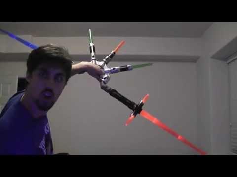 Star Wars Bladebuilders Kit & Kylo Ren Electronic Lightsaber Review