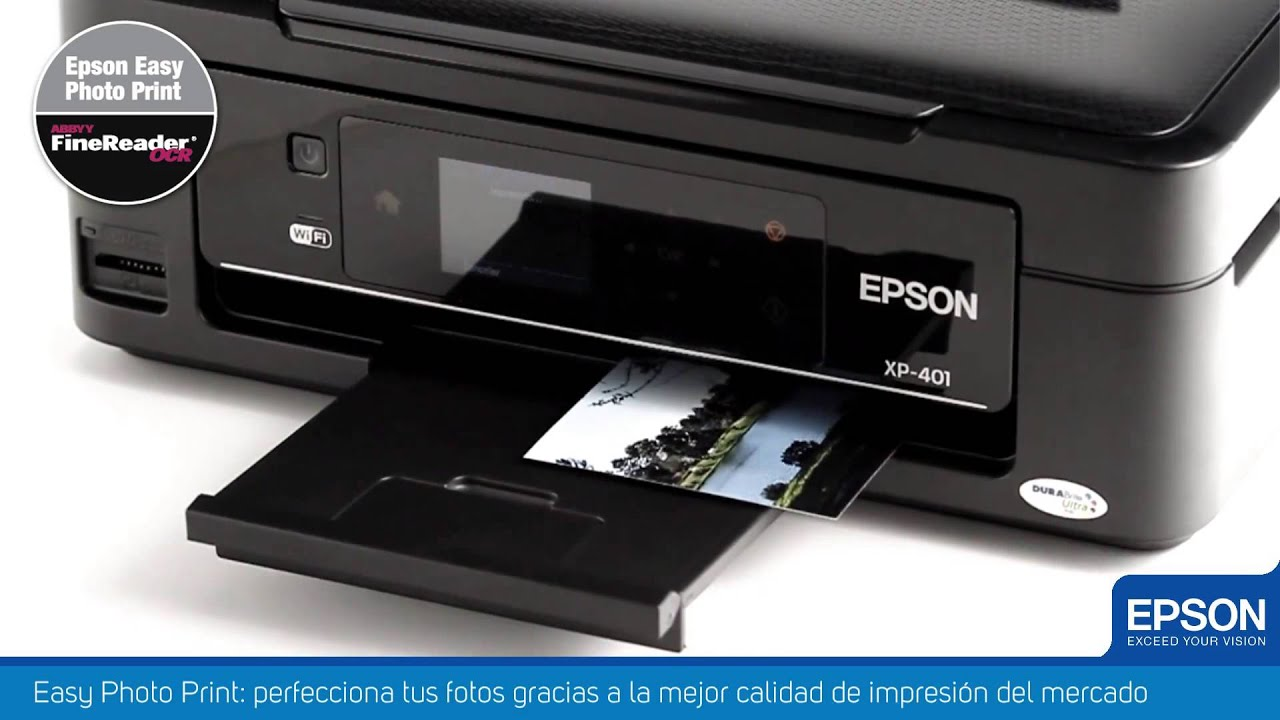 Impresora Multifuncional Epson Expression Xp 401 Youtube