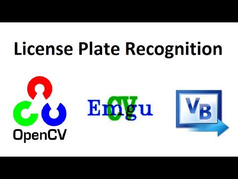 OpenCV 3 License Plate Recognition Emgu CV 3 Visual Basic full source code
