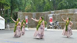 エキシビジョン フラダンスコレクション⑦/新宿中央公園/第5回 東京舞祭『秋』2018(初日)