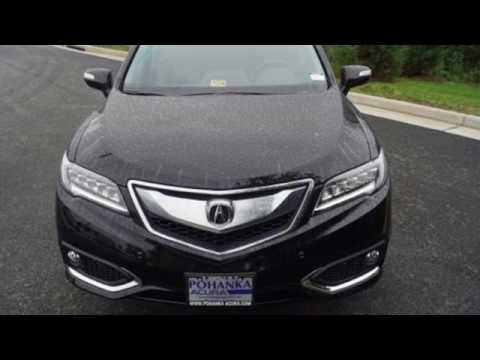 New 2018 Acura RDX Falls- VA Acura Washington-DC, DC #JL002760 ...