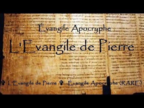 ✞ L'Evangile de Pierre ✞ -Évangile Apocryphe (RARE)