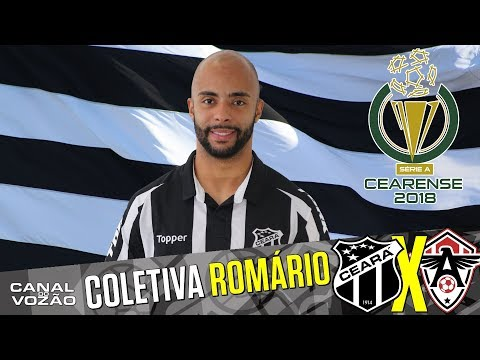 [Cearense '18] Coletiva Romário | Pré-jogo Ceará SC X Uniclinic AC | Canal do Vozão
