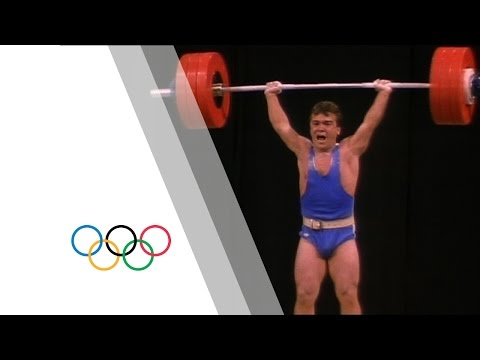 Thumbnail: The historic battle for Atlanta Weightlifting gold | Olympic History