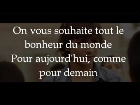 Tout le bonheur du monde - Kids United - Paroles