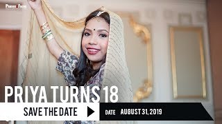 A Decade and Eight: Priya Sarker | Save The Date Video by Phases and Faces Digital Photography