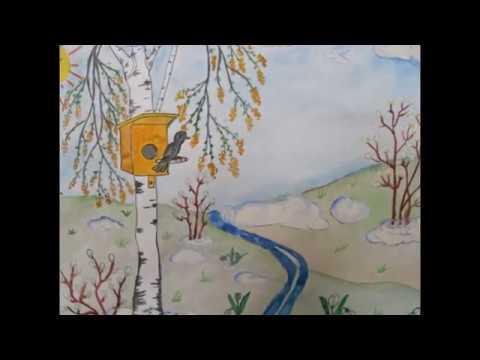 Рисунки. Что можно нарисовать на тему весна? Слайд - шоу