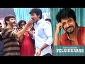Sivakarthikeyan celebrates Birthday with Velaikkaran movie crew | Mohan Raja, Nayanthara