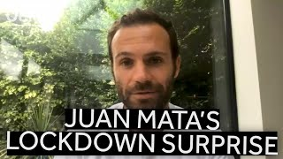 JUAN MATA'S LOCKDOWN SURPRISE!