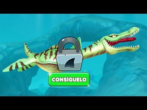 Hungry Shark World Nuevo Tiburón Drago (Pliosaurio)