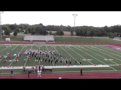 Fairfield Union Marching Falcons 2015 @ Canal Winchester