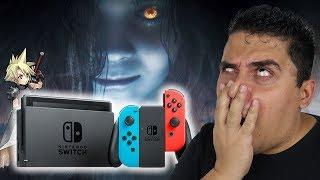 Resident Evil 7 para Nintendo Switch vai ser DESSE JEITO!?