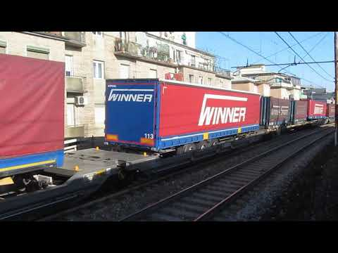 Vectron E193 260 con Merci TEC Winner Spedition a Milano