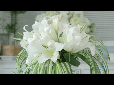 how-to-make-a-simple-lily-bouquet-floristry-tutorial